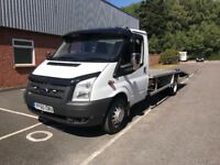 Ford transit recovery truck 2011 6 speed excellent truck