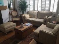 Multiyork 4 piece suite inc. sofa, armchair, chair and ottoman