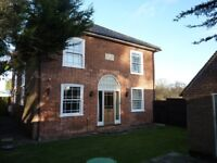 Converted semi-detached Georgian House 4 bedrooms 3 reception kitchen gardens brick shed