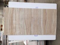Beige ceramic floor or wall tiles 45 x 45cm £6 per square metre