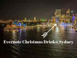 Evernote Christmas Drinks: Sydney Sydney City Inner Sydney Preview