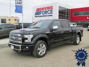 2016 Ford F-150 Platinum FX4 Super Crew 4x4 - 38,808 KMs, 3.5L
