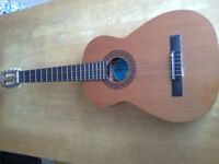Classical guitar - ideal first instrument to try out learning the guitar.