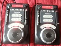A pair of Numark Axis 9 CDJ's in working order with original packaging.