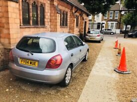 Nissan Almera for SALE. Great runner low milage