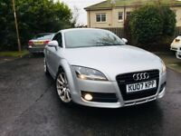 AUDI TT 3.2 V6 QUATTRO NAVIGATION MODEL RED LEATHER MOT 1 YEAR 2007 LOW MILEAGE