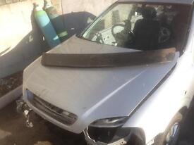 Vauxhall Astra Bertone irmisher boot spoiler