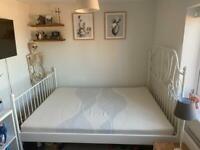 IKEA leirvik Kingsize bed frame