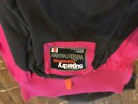 Pink Superdry girls jacket for sale