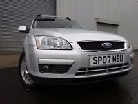 💥07 FORD FOCUS ZETEC 2.0 DIESEL ESTATE,MOT DEC 017,2 OWNERS,2 KEYS,PART HISTORY,STUNNING CAR