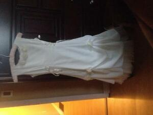 First Communion or Jr. Bridesmaid DRESS and SHOES