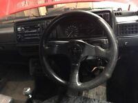 Mk2 golf gti spares grills / hella lights / momo steering wheel