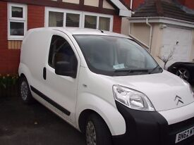 Citroen Nemo van . excellent runner ,ply lined,tyres all good, recent fuel filter change.