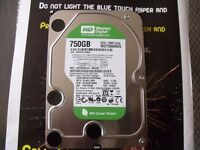 "WD Caviar Green internal 750GB SATA 32MB Cache 3.5"" HD"