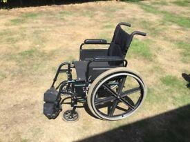 Sunrise Breezy Self Propelled Wheelchair