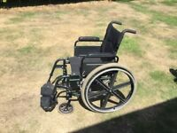 Sunrise Breezy Self Propelled Wheelchair