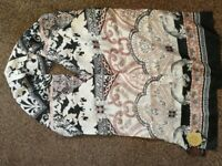 100% Silk Scarf Accessorize Brand New with Tags