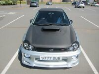 SUBARU IMPREZA WRX 2002 BUGEYE WITH STI UPGRADES 308BHP