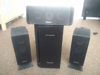 Panasonic Speakers With Subwoofer - Mint Condition