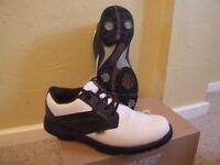 Mens HiTec Dry Tec classic golf shoes