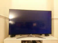 Samsung 48 inch smart wifi 3D TV with Freeview