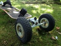 Mountain Board - used good condition incl. extras