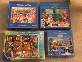 10 jigsaw puzzles inc 9 Gibsons