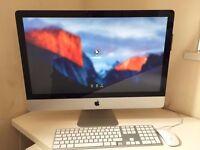 "Apple iMac 27"" core i5 16gb ram 1TB Hdd boxed"
