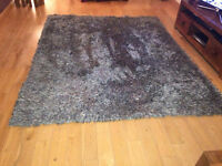 LARGE SILK WOVEN RUG