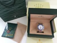 Rolex Yachtmaster 2 watch. Automatic self wind