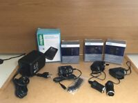 A bundle of new cables and adapters all purchased from Maplin
