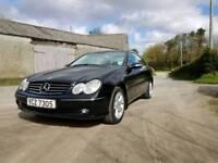 2004 Mercedes clk 200 Kompressor Avantgarde RARE Manual Model, full service history