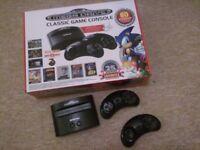 Megadrive Plug and Play 80 games in 1 Console sega sonic mortal kombat nintendo