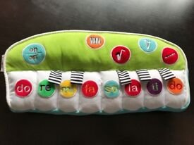 Baby soft keyboard and 3 in 1 musical mobile