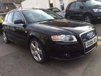 AUDI A4 2.0 TDI DIESEL S LINE 2006 ESTATE AUTOMATIC VERY CLEAN FULL HSITORY PART EX TO CLEAR