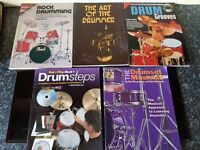 Drum Kit – 5 x Music books