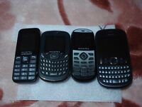 mobile phones job lot. 3 are perfectly working. BARGAIN....