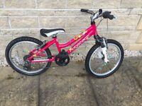 """Girls Mountain Bike - Ridgeback 20"""" age 5-8"""
