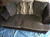 DFS Shannon 2 seater sofa and cuddle chair