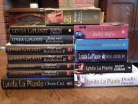 Lynda LaPlante books in good condition