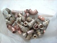 4SALE,BRASS n COPPER PIPE CONNECTORS n DOOR HENGES ETC,BOTH BAGS FOR £4