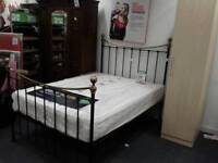 Double bed with mattress BHF Glasgow