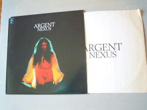 Argent - NEXUS (Lp) Press USA 1974 Busta interna originale con testi. Cut Corner - Italia - Argent - NEXUS (Lp) Press USA 1974 Busta interna originale con testi. Cut Corner - Italia