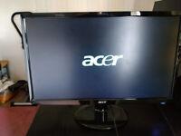 Acer 21.5 inch monitor model S221HQL