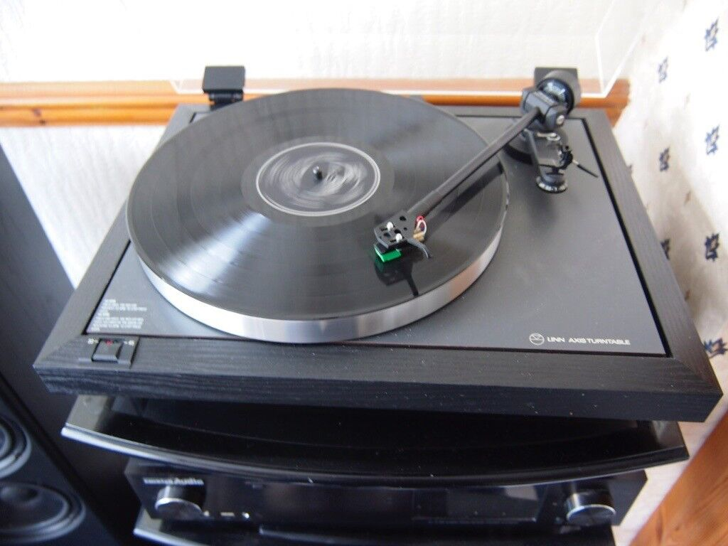 Manticore mantra turntable and linn lvx basik plus (lvx+) tonearm.