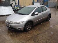 2006 06reg Honda Civic 1.8 petrol SE Silver 5 Door