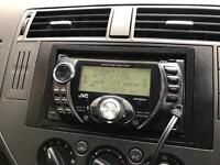 Double Din jvc CD player with surround
