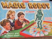 Vintage board game - Magic Robot
