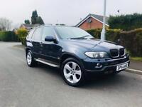 BMW X5 3D SPORT AUTO 2004/54 FULL HISTORY £3295