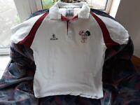 Kurri white polo shirt, with CAI logo, 40 inch chest